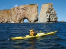 Sea kayaking, Percé Rock National Park