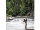 Fly fishing on Gaspé's renown salmon rivers