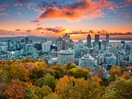 Montréal skyline from Mount Royal