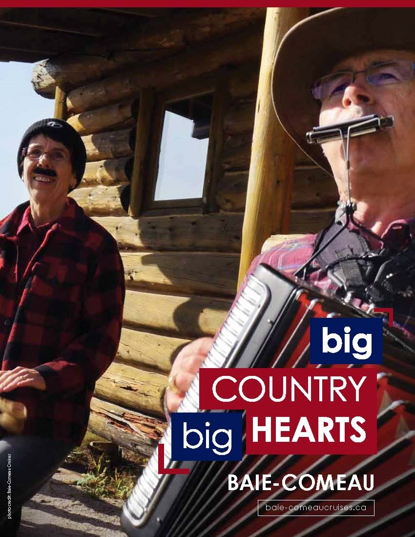 Baie-Comeau - Big country, big hearts (cover)